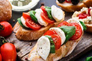 Recette Bruschetta Tomates Mozzarella