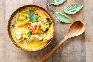Recette Curry de Poulet aux Fruits