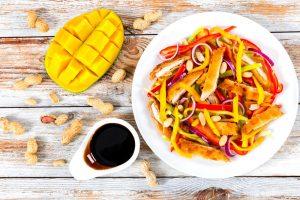 recette salade estivale façon thai