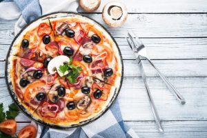 Recette Pizza Forestière aux Champignons